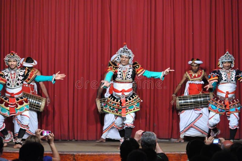 Χορός Kandyan στοκ εικόνες