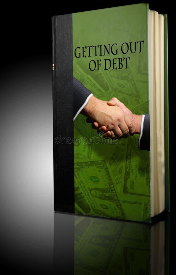 χρέος βιβλίων οικονομικό στοκ εικόνες