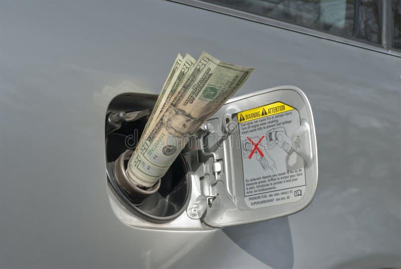 χρήματα αερίου στοκ φωτογραφίες με δικαίωμα ελεύθερης χρήσης