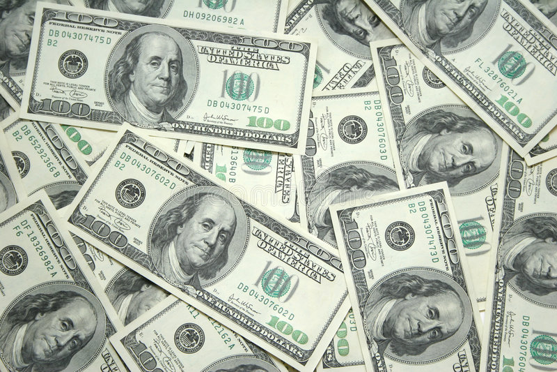 χρήματα ανασκόπησης Στοκ εικόνα με δικαίωμα ελεύθερης χρήσης
