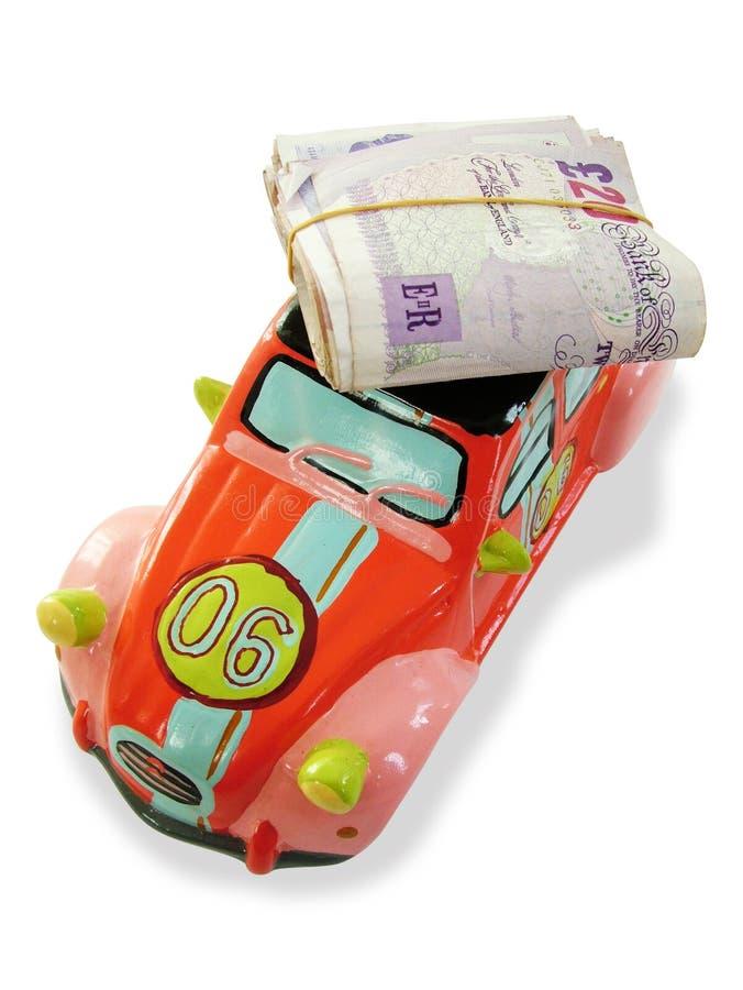 χρήματα αυτοκινήτων κιβω&tau στοκ φωτογραφίες με δικαίωμα ελεύθερης χρήσης