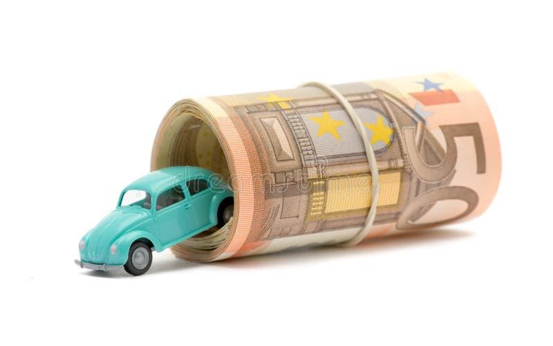 χρήματα αυτοκινήτων στοκ εικόνες με δικαίωμα ελεύθερης χρήσης