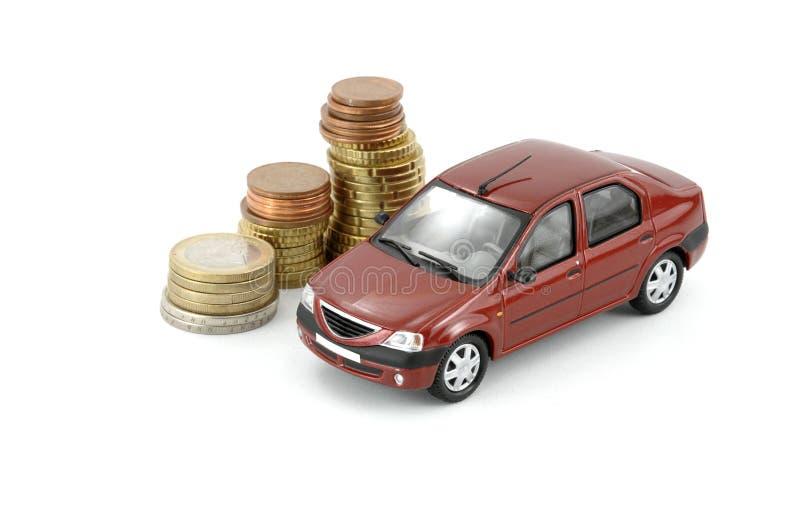 χρήματα αυτοκινήτων στοκ εικόνα με δικαίωμα ελεύθερης χρήσης