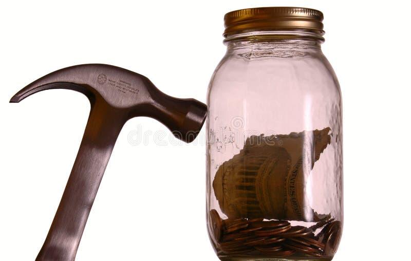 χρήματα βάζων στοκ φωτογραφία με δικαίωμα ελεύθερης χρήσης