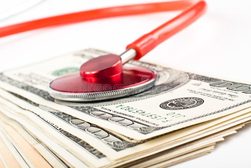 χρήματα γιατρών στοκ εικόνα