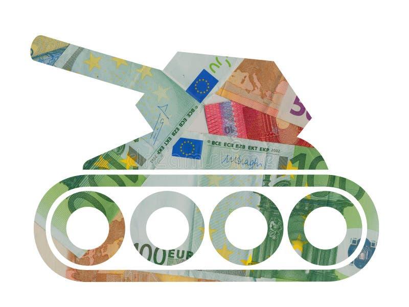 Χρήματα για το στρατό ελεύθερη απεικόνιση δικαιώματος