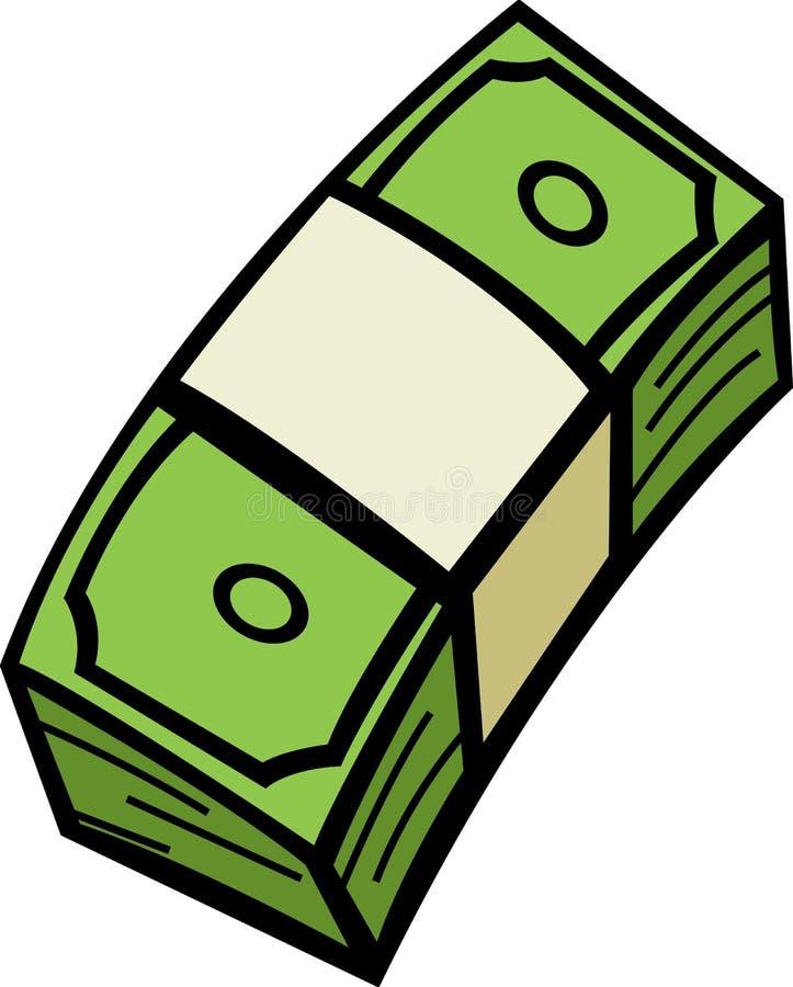 χρήματα δεσμών λογαριασμώ& ελεύθερη απεικόνιση δικαιώματος