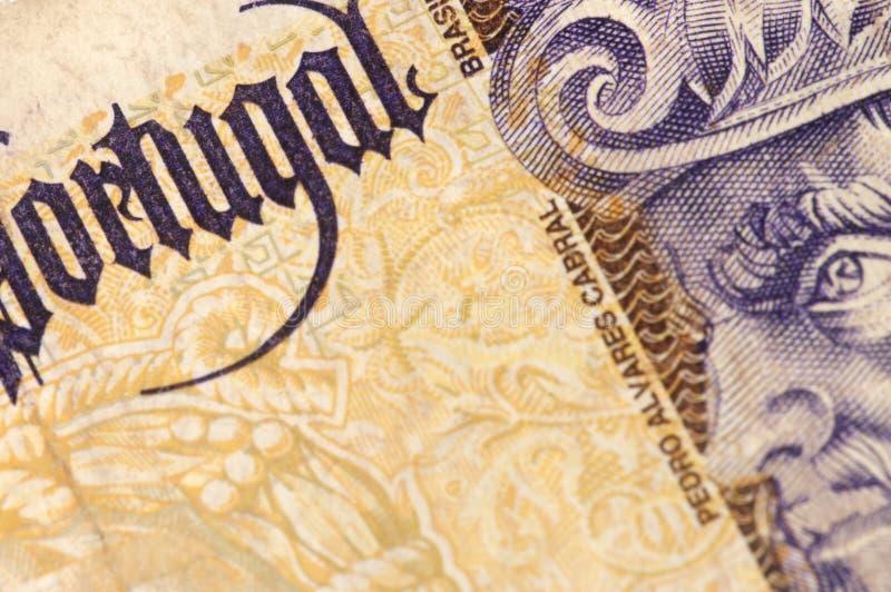 Χρήματα εγγράφου της Πορτογαλίας στοκ φωτογραφία