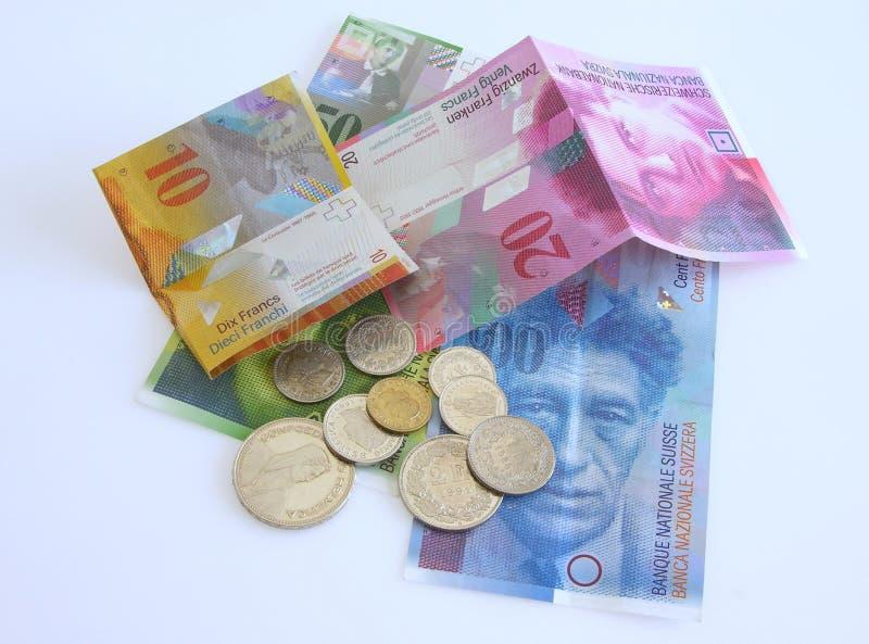 χρήματα Ελβετός στοκ φωτογραφία με δικαίωμα ελεύθερης χρήσης