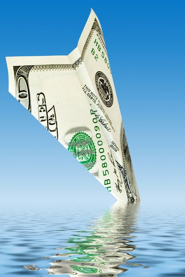 χρήματα κρίσης στοκ φωτογραφίες