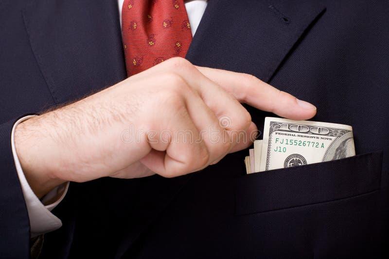 χρήματα μπουτονιερών στοκ φωτογραφίες με δικαίωμα ελεύθερης χρήσης