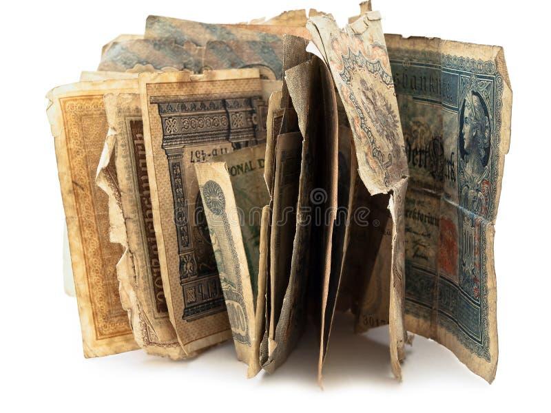χρήματα παλαιά στοκ εικόνα