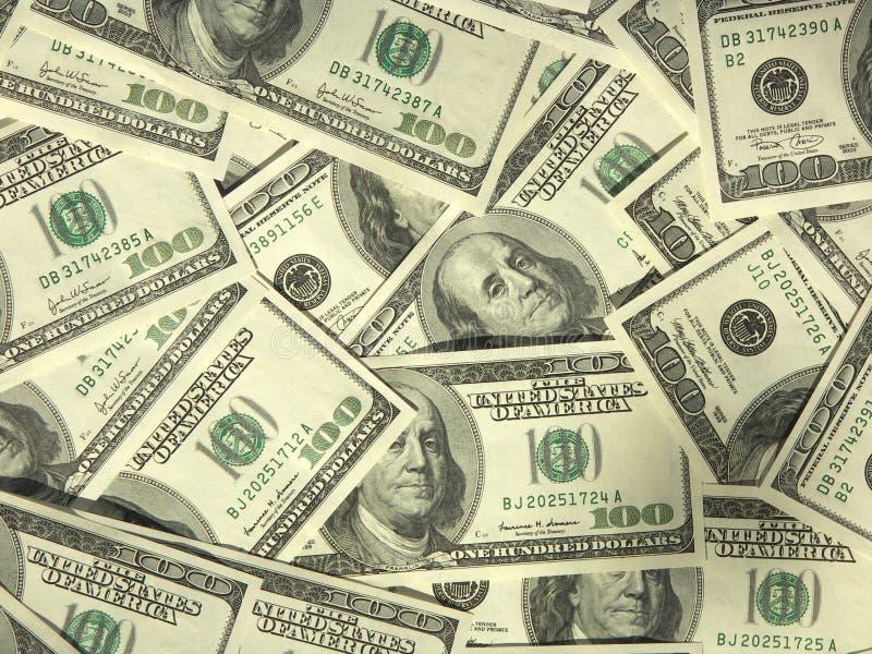 χρήματα περισσότερο το χαρτοφυλάκιό που μου βλέπει στοκ εικόνα με δικαίωμα ελεύθερης χρήσης