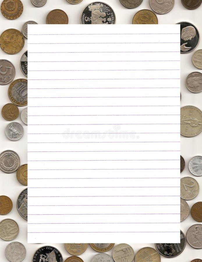 Download χρήματα πλαισίων στοκ εικόνες. εικόνα από μήνυμα, σημείωση - 13178592