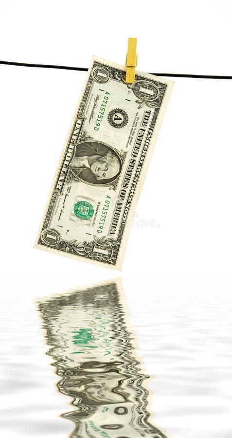 χρήματα πλυντηρίων στοκ εικόνες