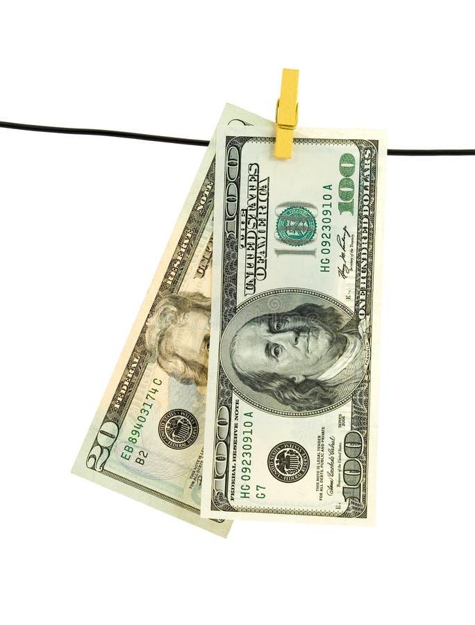χρήματα πλυντηρίων στοκ εικόνα