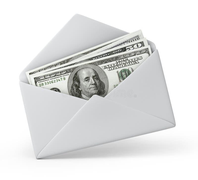 Χρήματα σε έναν φάκελο απεικόνιση αποθεμάτων