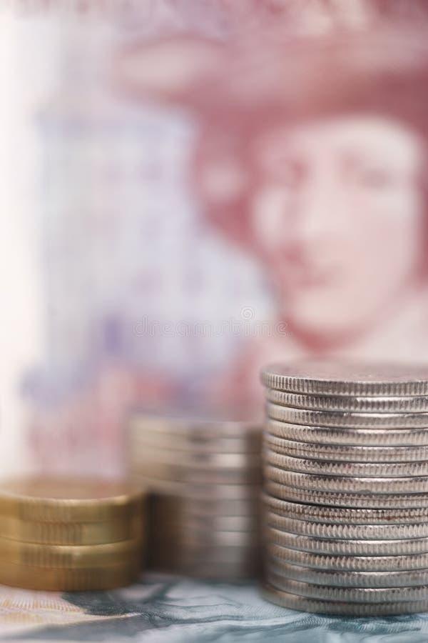 χρήματα σουηδικά στοκ φωτογραφία