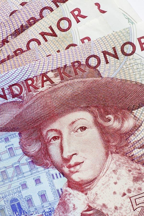 χρήματα σουηδικά στοκ εικόνα