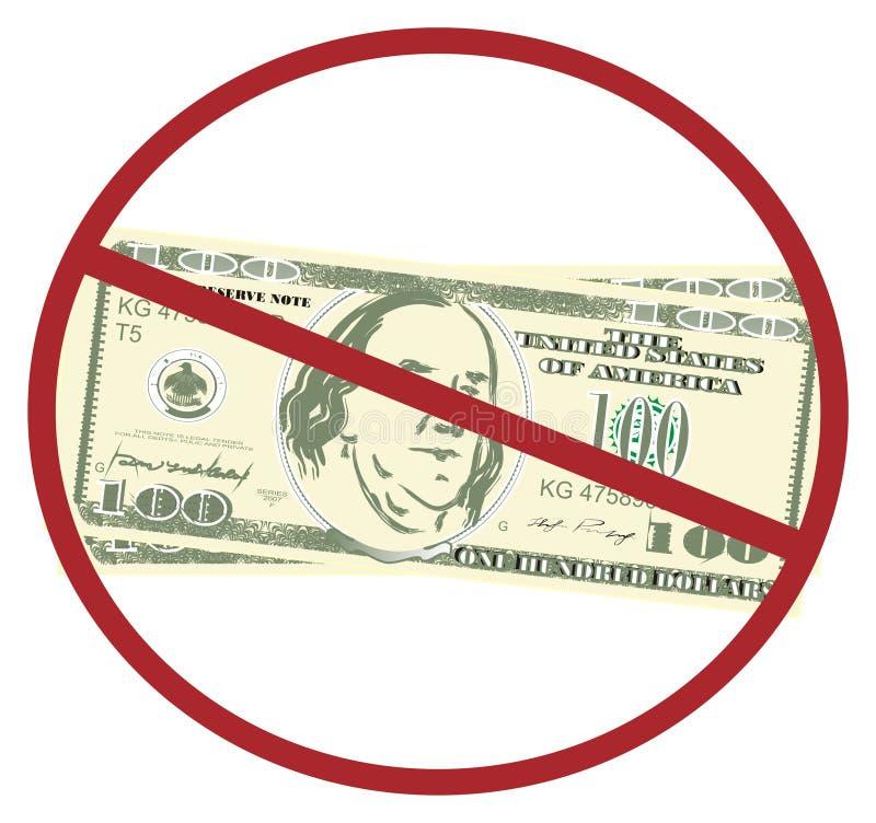 Χρήματα στην απαγόρευση απεικόνιση αποθεμάτων