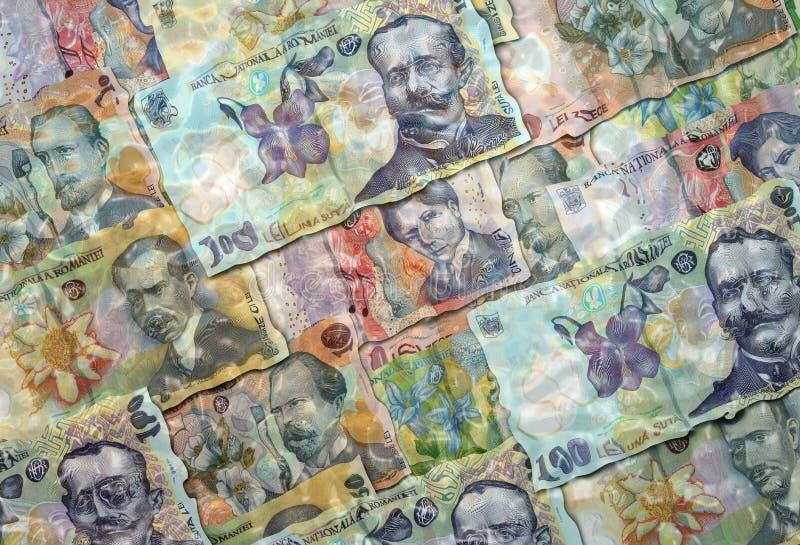 Χρήματα στο νερό στοκ εικόνες με δικαίωμα ελεύθερης χρήσης