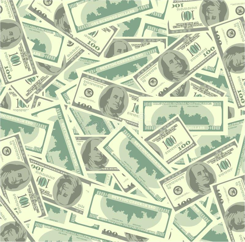χρήματα σωρών διανυσματική απεικόνιση