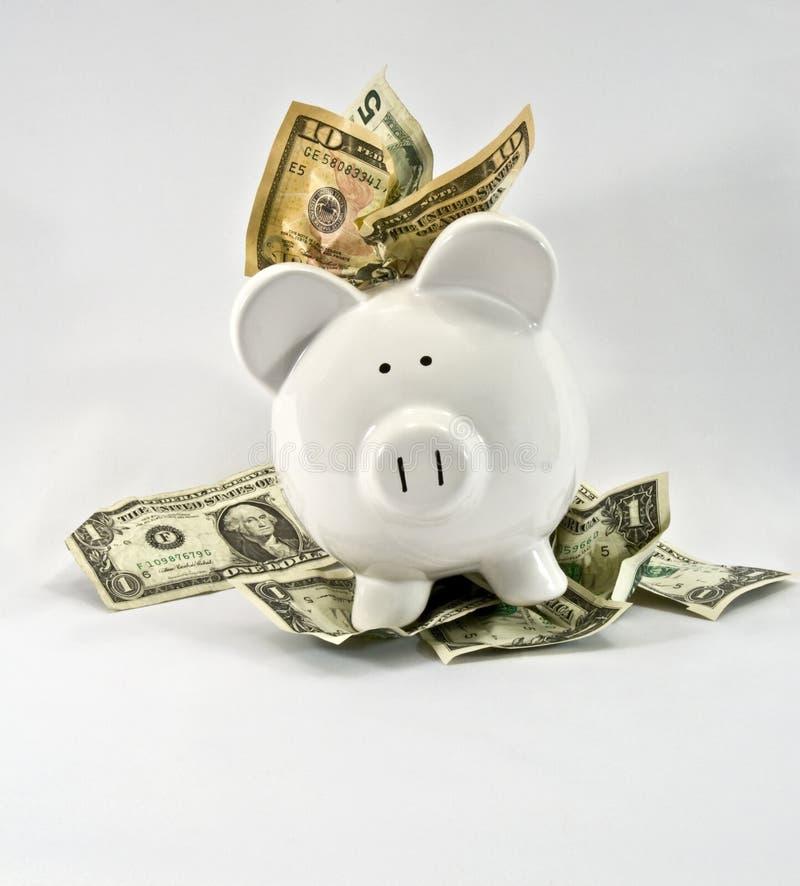 χρήματα τραπεζών στοκ εικόνες με δικαίωμα ελεύθερης χρήσης
