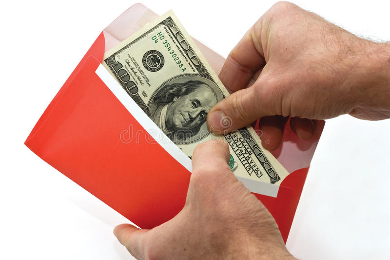 χρήματα φακέλων στοκ φωτογραφίες με δικαίωμα ελεύθερης χρήσης