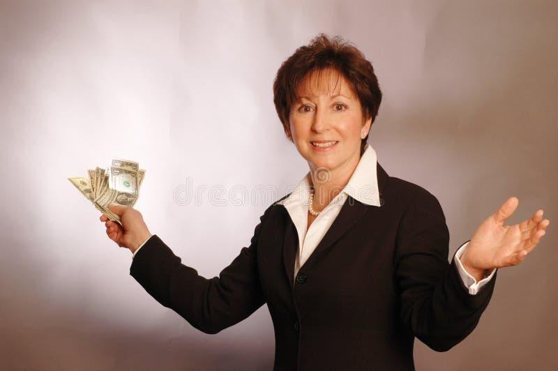 χρήματα 2144 χεριών Στοκ εικόνα με δικαίωμα ελεύθερης χρήσης