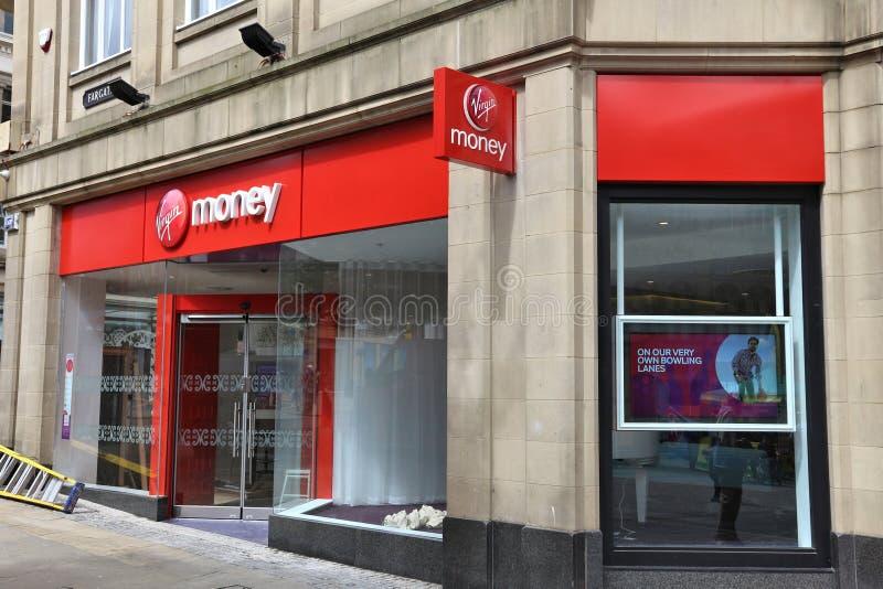 Χρήματα UK της Virgin στοκ φωτογραφία