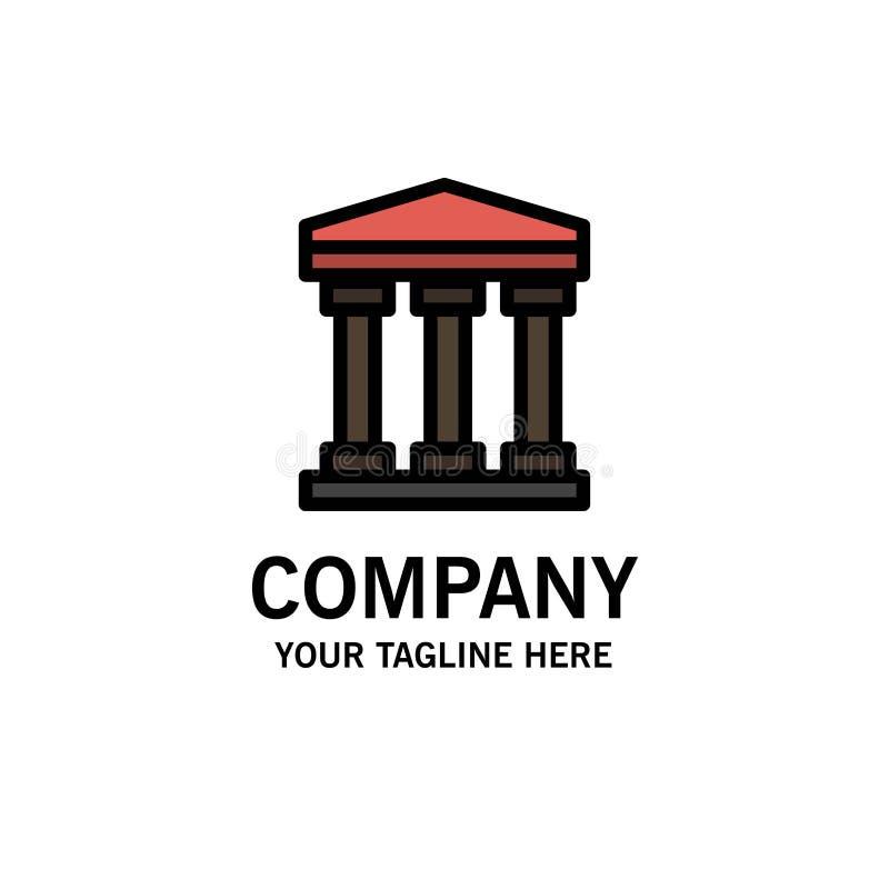 Χρήστης, τράπεζα, πρότυπο επιχειρησιακών λογότυπων μετρητών Επίπεδο χρώμα απεικόνιση αποθεμάτων