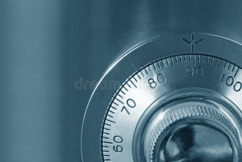 χρηματοκιβώτιο κλειδωμάτων στοκ φωτογραφίες