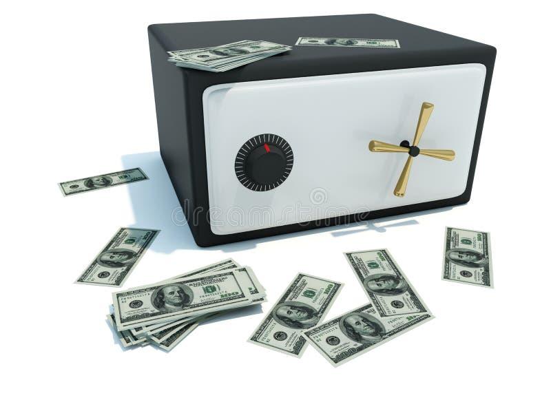 χρηματοκιβώτιο χρημάτων ελεύθερη απεικόνιση δικαιώματος