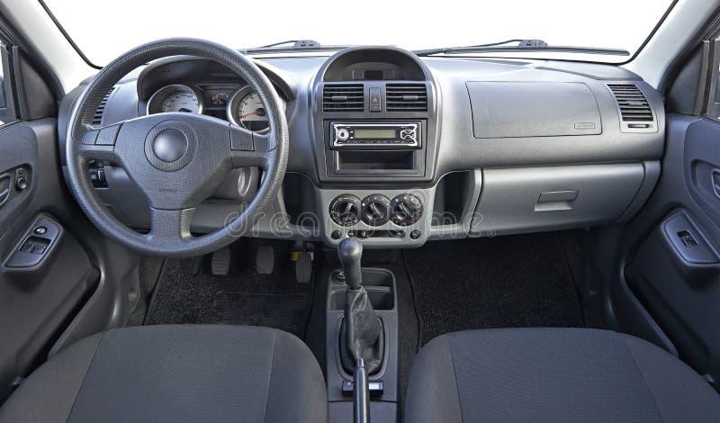 Χρησιμοποιημένο εσωτερικό αυτοκινήτων στοκ φωτογραφία με δικαίωμα ελεύθερης χρήσης