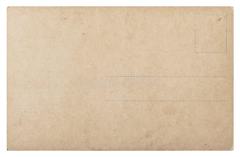 Χρησιμοποιημένο παλαιό καρτών έγγραφο ύφους ταχυδρομείου εκλεκτής ποιότητας αναδρομικό στοκ φωτογραφία με δικαίωμα ελεύθερης χρήσης
