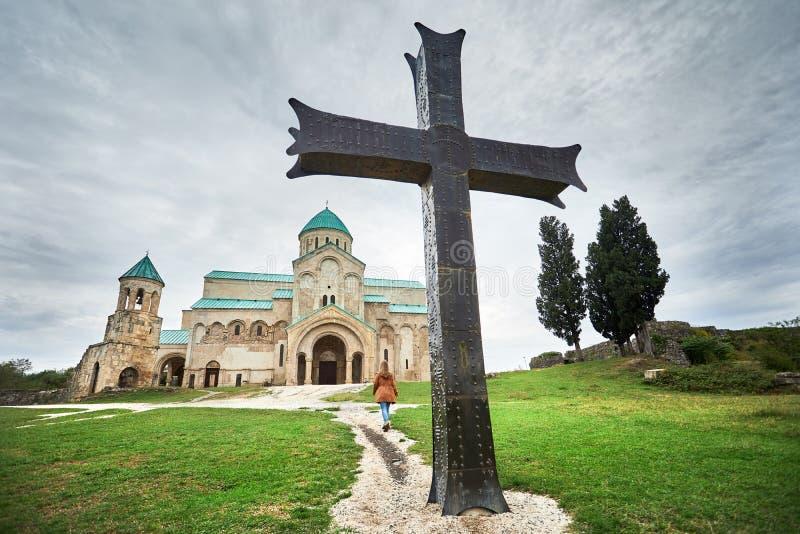 Χριστιανική εκκλησία στη Γεωργία στοκ εικόνα