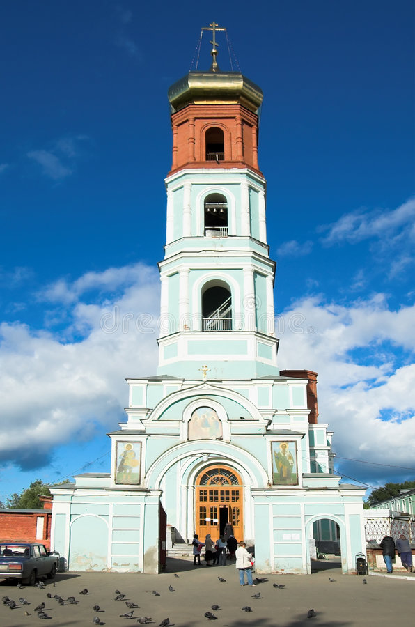 χριστιανική εκκλησία perm στοκ εικόνες με δικαίωμα ελεύθερης χρήσης