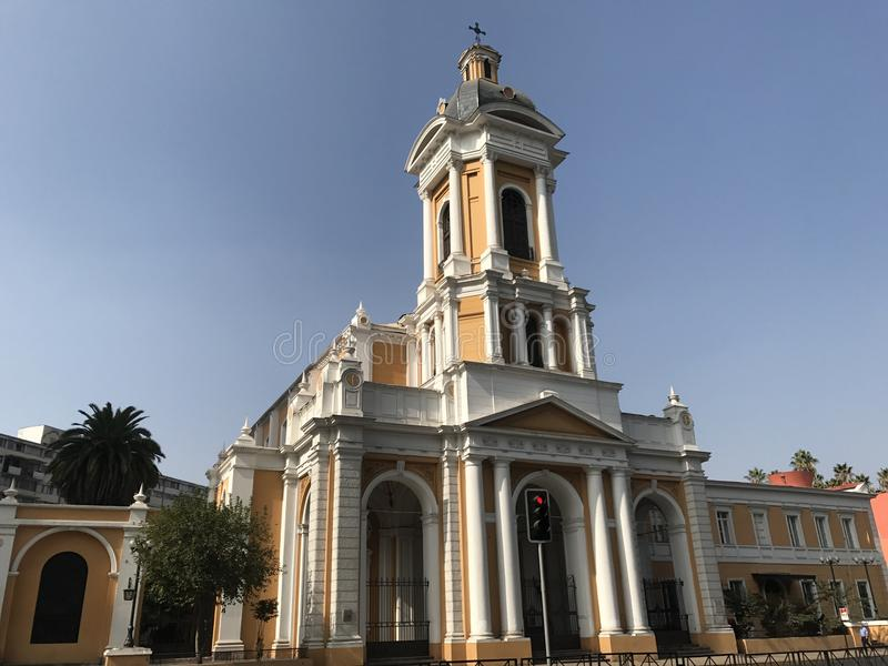 Χριστιανική εκκλησία στη Χιλή στοκ εικόνα