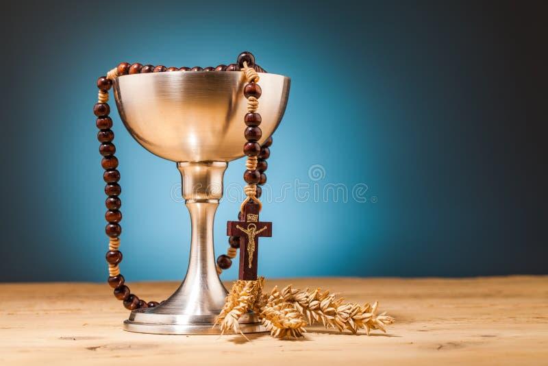 Χριστιανική ιερή κοινωνία στοκ φωτογραφίες με δικαίωμα ελεύθερης χρήσης