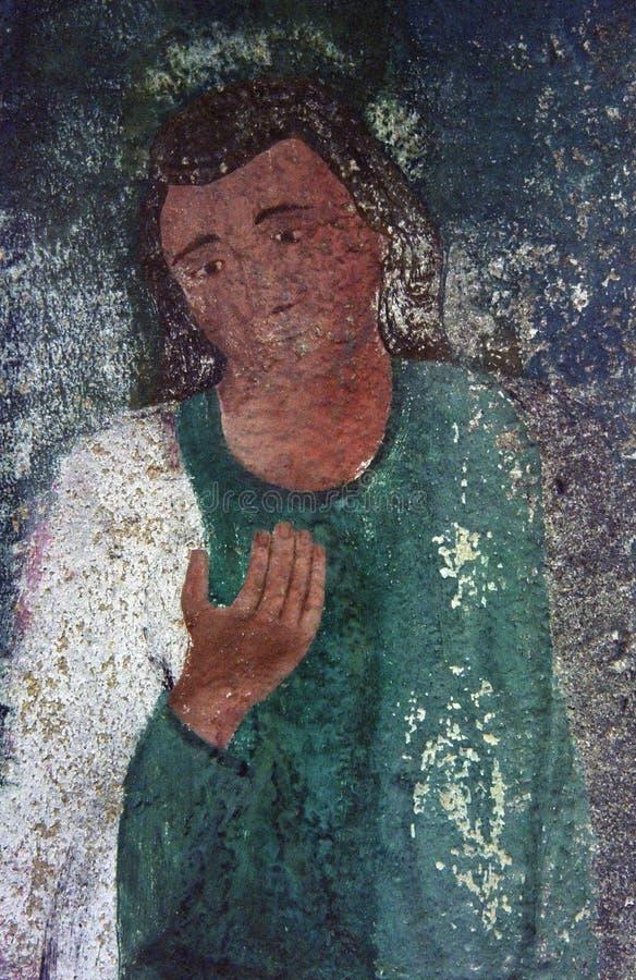 χριστιανική παλαιά ζωγρα&phi στοκ φωτογραφία με δικαίωμα ελεύθερης χρήσης