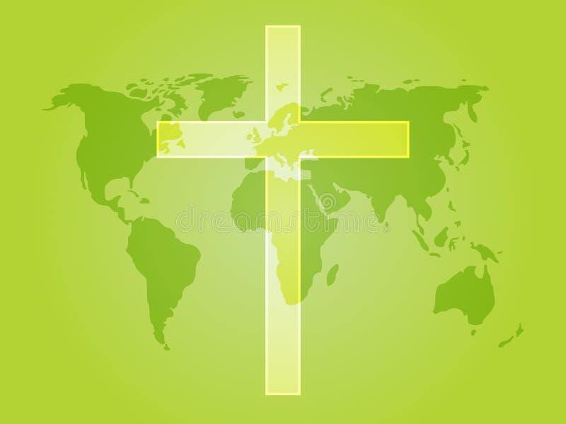 χριστιανικός σταυρός απεικόνιση αποθεμάτων