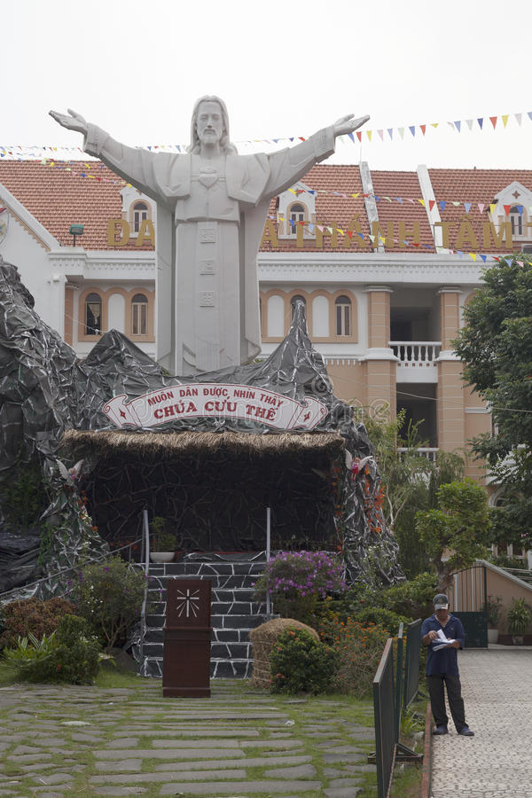 Χριστιανισμός στο Βιετνάμ στοκ φωτογραφία
