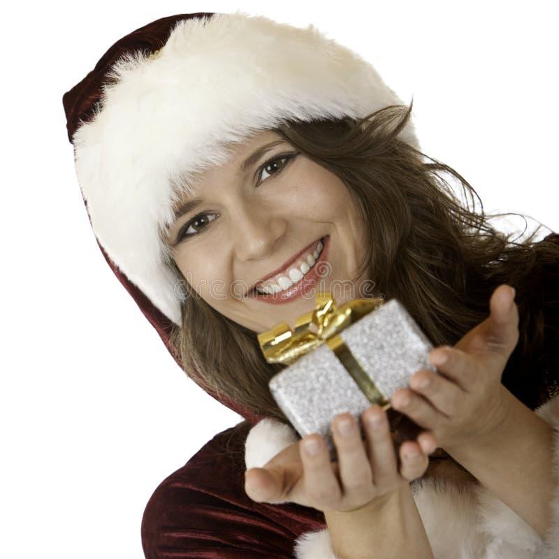 Χριστουγέννων χαμογελών&t στοκ εικόνες