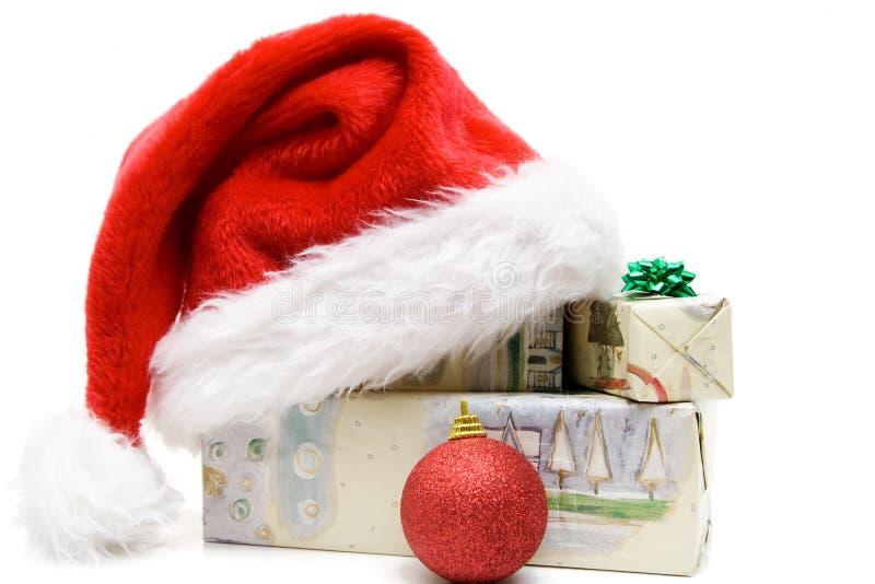 Χριστουγεννιάτικα δώρα στοκ εικόνες με δικαίωμα ελεύθερης χρήσης