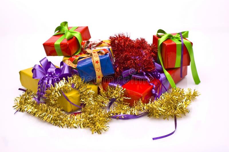 χριστουγεννιάτικα δώρα στοκ εικόνα με δικαίωμα ελεύθερης χρήσης
