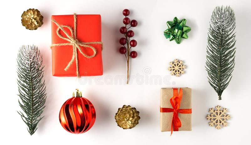 Χριστουγεννιάτικα στολίδια στοκ φωτογραφία