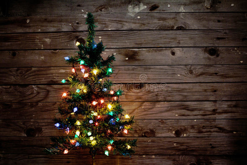 Χριστουγεννιάτικο δέντρο στοκ φωτογραφίες με δικαίωμα ελεύθερης χρήσης