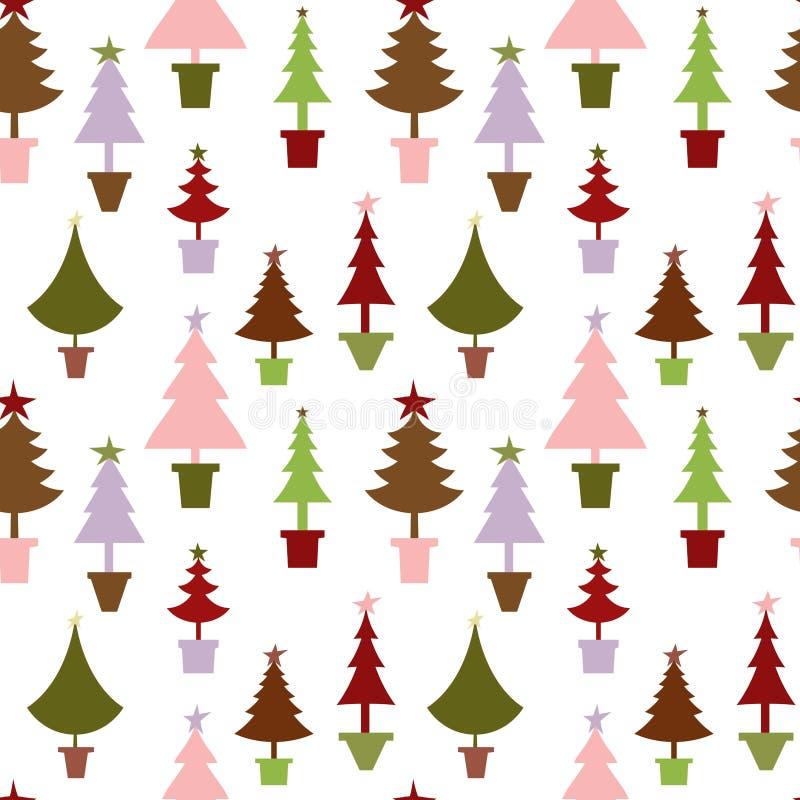 χριστουγεννιάτικο δέντρο ανασκόπησης ελεύθερη απεικόνιση δικαιώματος