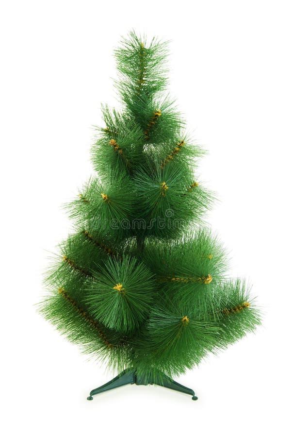 Χριστουγεννιάτικο δέντρο που απομονώνεται στοκ φωτογραφίες