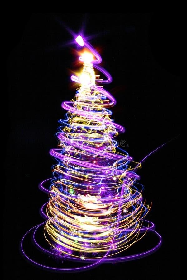 χριστουγεννιάτικο δέντρο χρώματος απεικόνιση αποθεμάτων